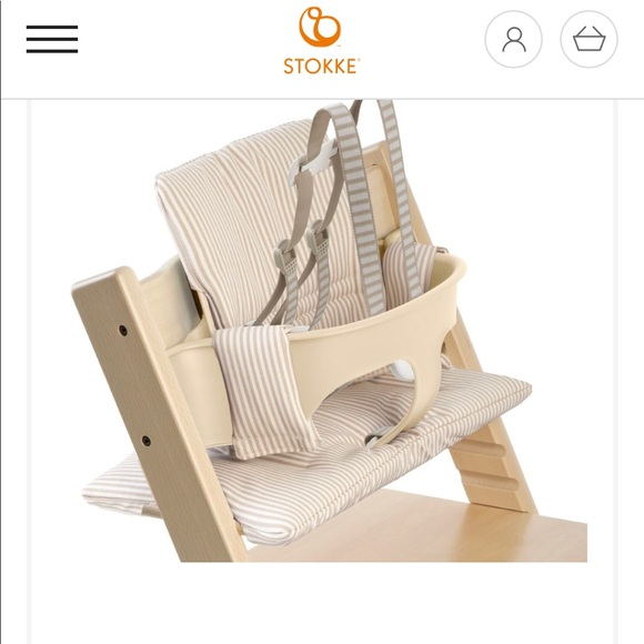 Marvelous Stokke Tripp Trap High Chair Cover New In Box Nwt Caraccident5 Cool Chair Designs And Ideas Caraccident5Info